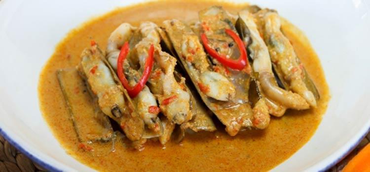 Kerang Bambu Saus Gulai at Pesisir Seafood