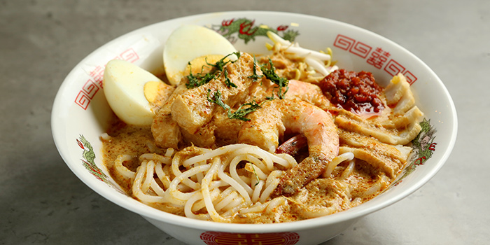 Laksa from Oops Bistro & Bar in Sembawang, Singapore