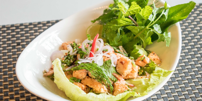 Larb-Salmon from Charm Thai in Patong, Phuket, Thailand
