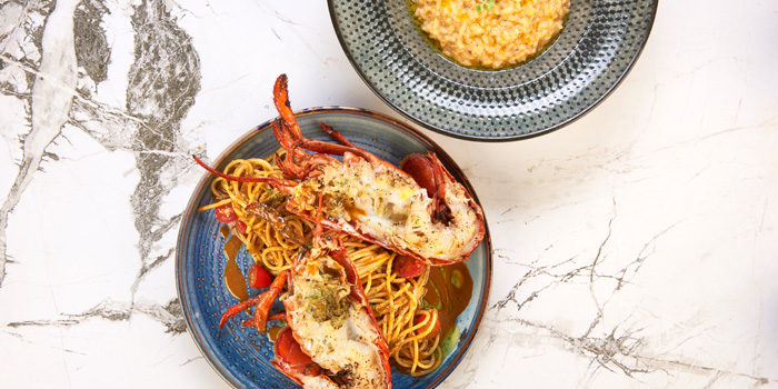 Lobster Spaghetti & Risotto from Victoria By Cocotte at EmQuartier 637 Sukhumvit Rd Khlong Tan Nuea, Watthana Bangkok