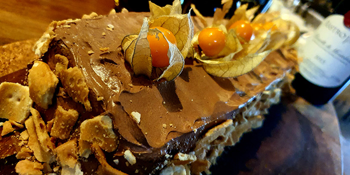 Log Cake from Trattoria Nonna Lina in Tanjong Pagar, Singapore