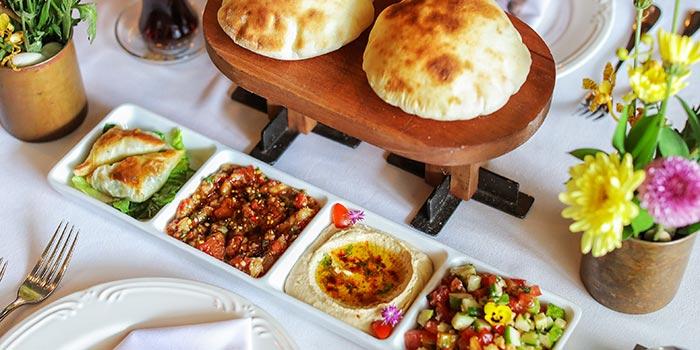 Mezze Platter at Turkuaz