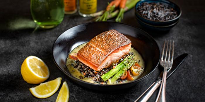 Pan Seared Salmon from Oscar