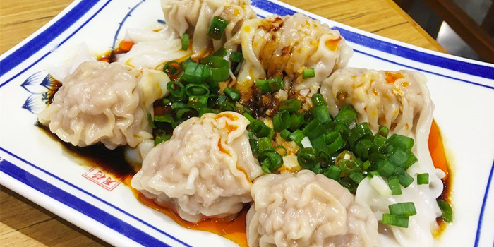 Pork & Vegetable Wontons in Chilli Oil, Jiangsu & Zhejiang, Tsim Sha Tsui, Hong Kong