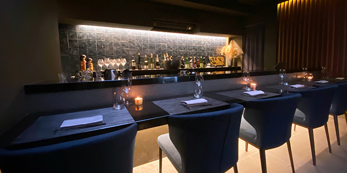 Bar of RIZU in Duxton, Singapore