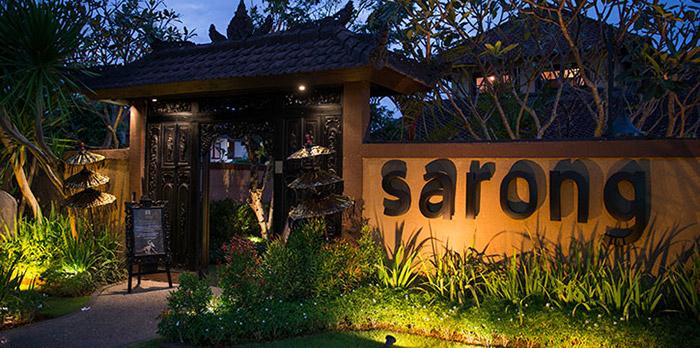 Exterior of Sarong Bali