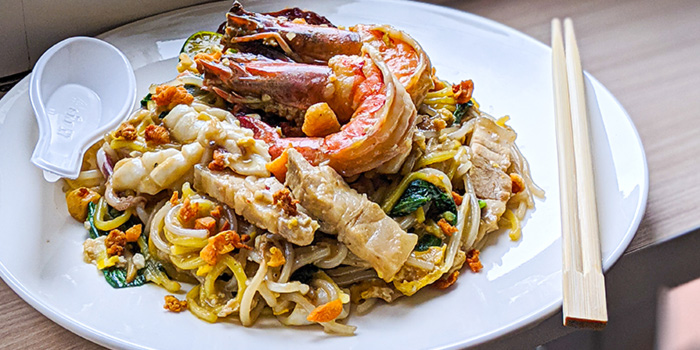 Hokkien Mee from Ah Sam Cold Drink Stall in Boat Quay, Singapore