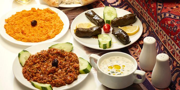 Assorted Food from Alaturka Turkish & Mediterranean Restaurant in Bugis, Singapore