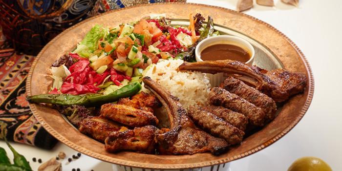 Karisik Kebab Platter from Alaturka Turkish & Mediterranean Restaurant in Bugis, Singapore