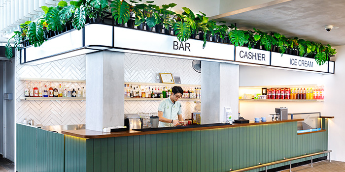 Bar Area of Arbora (formerly Spuds & Aprons) at Faber Peak Singapore in Harbourfront, Singapore