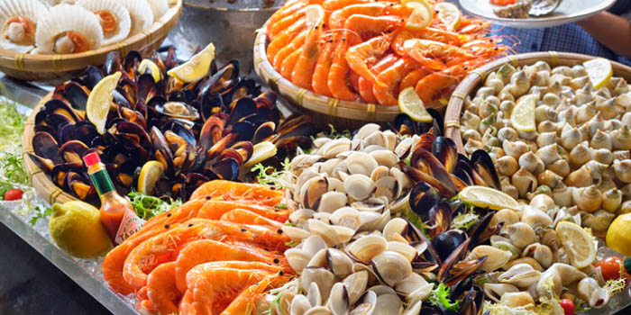 Buffet Spread from Atrium Restaurant in Holiday Inn Singapore Atrium in Outram, Singapore