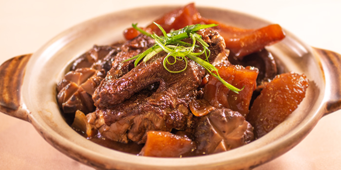 Braised Duck with Sea Cucumber from Beng Hiang Restaurant in Jurong, Singapore
