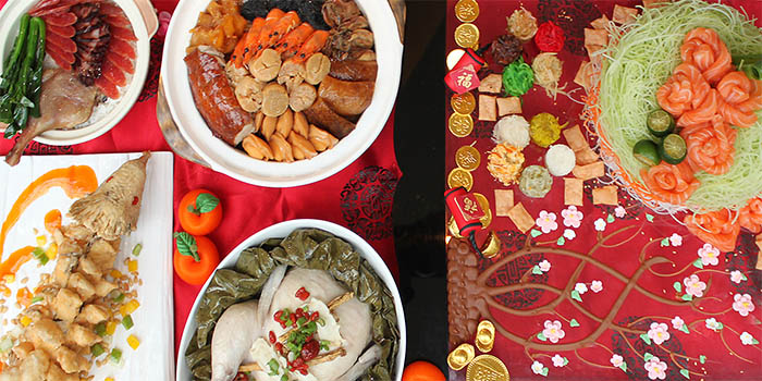 Chinese New Year Spread (20 Jan to 9 Feb) from Food Capital at Grand Copthorne Waterfront Hotel in Robertson Quay, Singapore