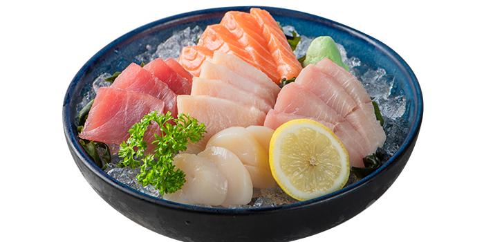 5 Kinds Sashimi from Goro Japanese Cuisine in Buona Vista, Singapore