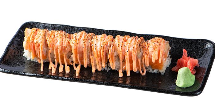 Aburi Unagi Salmon Mentai Maki from Goro Japanese Cuisine in Buona Vista, Singapore