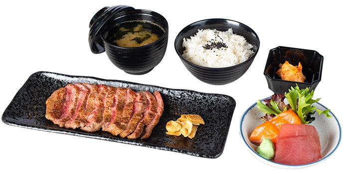 Steak from Goro Japanese Cuisine in Buona Vista, Singapore