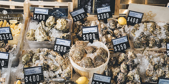Assorted Oysters from Greenwood Fish Market @ Quayside Isle in Sentosa, Singapore
