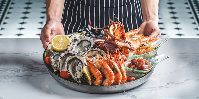 Cold Seafood Platter from Greenwood Fish Market @ Quayside Isle in Sentosa, Singapore