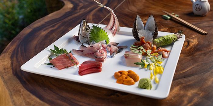 Sashimi Platter from Greenwood Fish Market @ Quayside Isle in Sentosa, Singapore