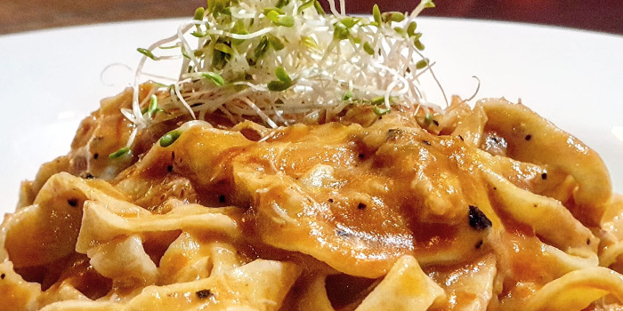 Crabmeat Taliolini from Mazzo Restaurant & Bar in Club Street, Singapore