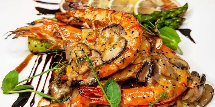 Grilled Prawns from Mazzo Restaurant & Bar in Club Street, Singapore