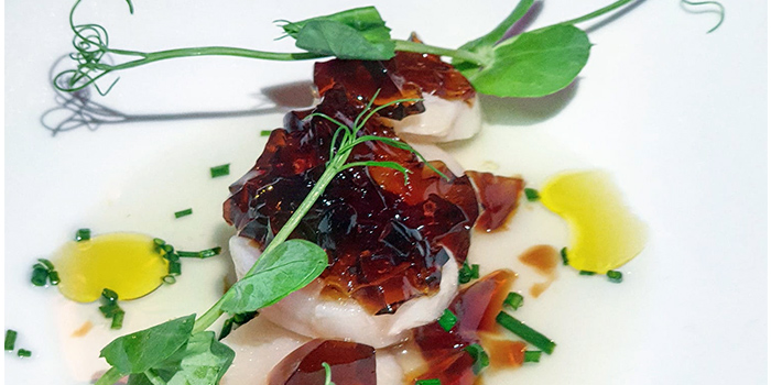 Scallop from Mazzo Restaurant & Bar in Club Street, Singapore