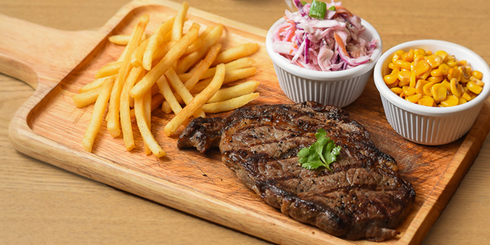 Ribeye Steak from Meat you Here at Balmoral Plaza in Newton, Singapore