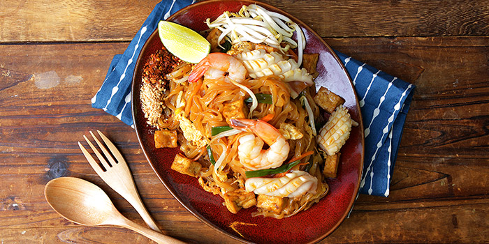 Pad Thai Ck or Prawn from Noodle Thai Thai Kitchen @ Beach Road in Bugis, Singapore