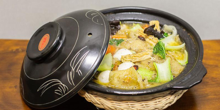 Claypot Stewed Assorted Delicates from Peng Cheng Xiao Chu 彭城小厨 in Chinatown, Singapore