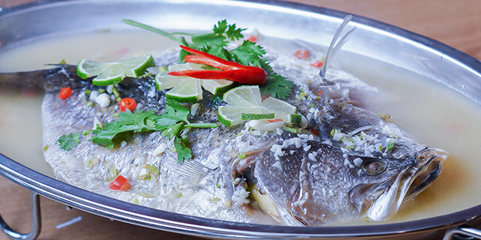 Steamed Fish from Thai