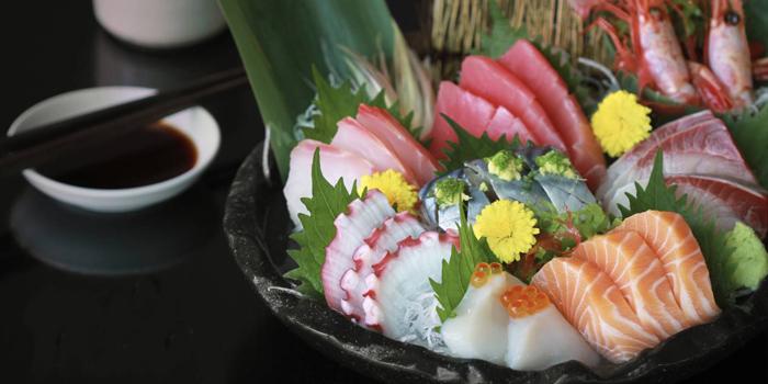 Sashimi Dishes from Nomimono Izakaya at 4 Soi Ratchaphruek 36 Taling Chan Bangkok