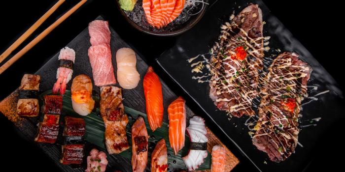 Selection of Food from The Elephant Butcher & Eatery at Marketplace Nang Linchi Chong Nonsi Yan Nawa Bangkok