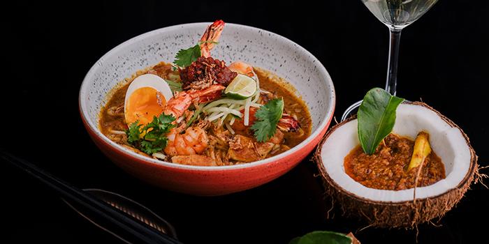 Food from ShiShi Asian Bistro, Seminyak, Bali