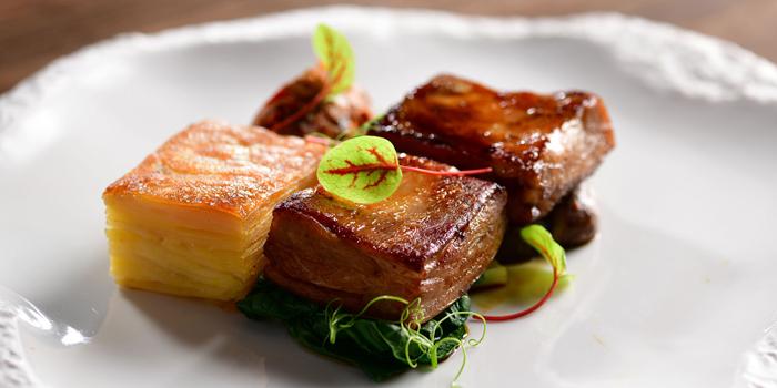 Slow Cooked New Zealand Te Mana Lamb Belly, Alibi - Wine Dine Be Social, Mong Kok, Hong Kong