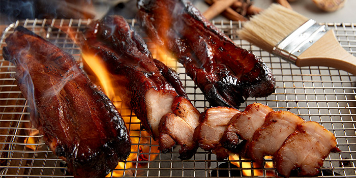 Black Char Siu from Spice Brasserie in Little India, Singapore