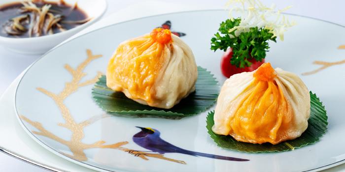 Steamed Minced Pork Dumpling with Hairy Crab & Yolk, Sun Tung Lok, Tsim Sha Tsui, Hong Kong
