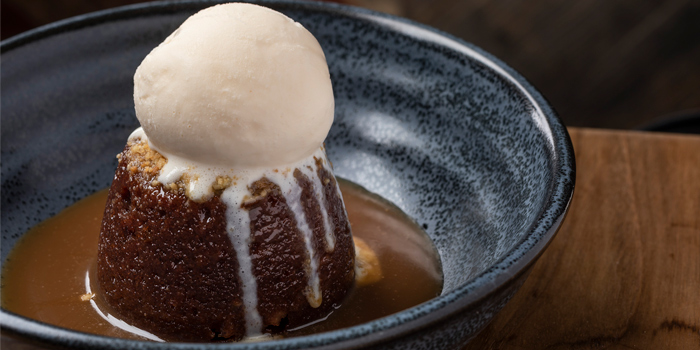 Sticky Toffee Pudding, Bread Street Kitchen & Bar, The Peak, Hong Kong