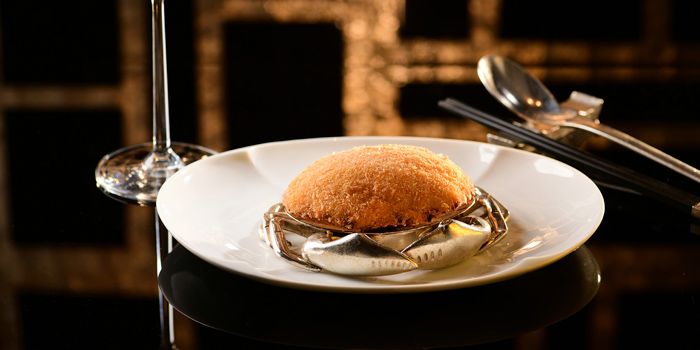 Stuffed Crab Shell, Crab Meat, Breaded, Deep-fried, Ming Court, Mongkok, Hong Kong