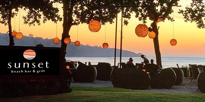 Exterior at Sunset Beach Bar & Grill