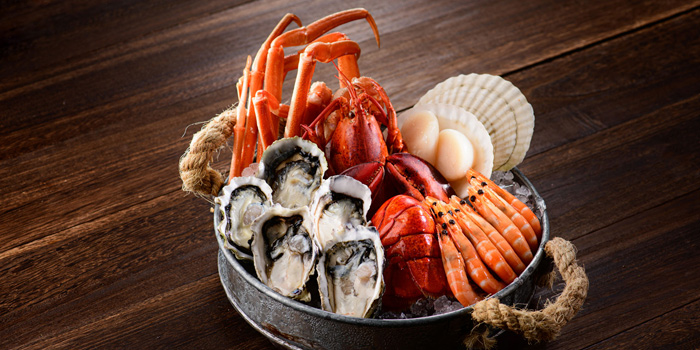 Sustainable Seafood Platter, Alibi - Wine Dine Be Social, Mong Kok, Hong Kong
