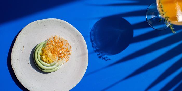 Food from Tanaman Restaurant, Seminyak, Bali