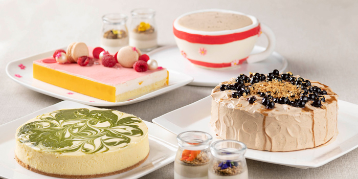 Tea themed Desserts, The Place, Mongkok, Hong Kong