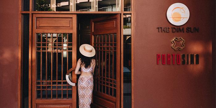 The Door of Portosino in Karon, Phuket, Thailand.