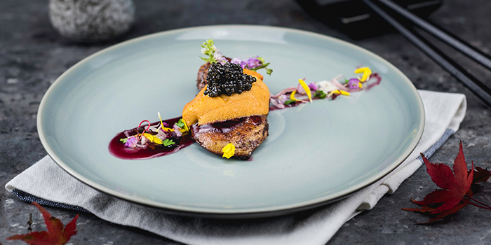Uni Caviar Foie from Uni Gallery by Oosterbay at The Plaza in Lavender, Singapore
