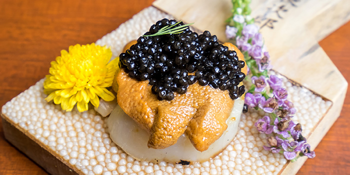 Uni Caviar Hotate from Uni Gallery by Oosterbay at The Plaza in Lavender, Singapore