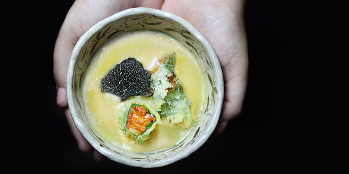Uni Truffle Chawanmushi from Uni Gallery by Oosterbay at The Plaza in Lavender, Singapore