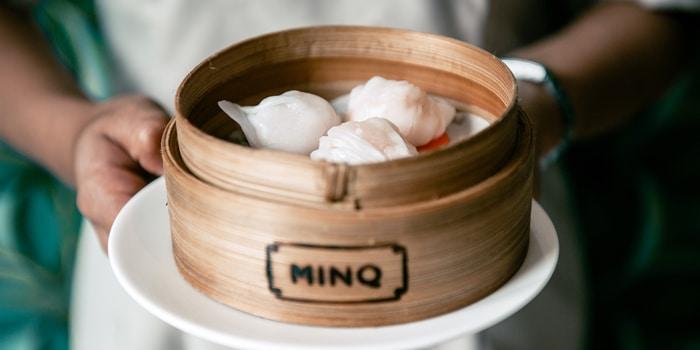 Shrimp Hakao at MINQ
