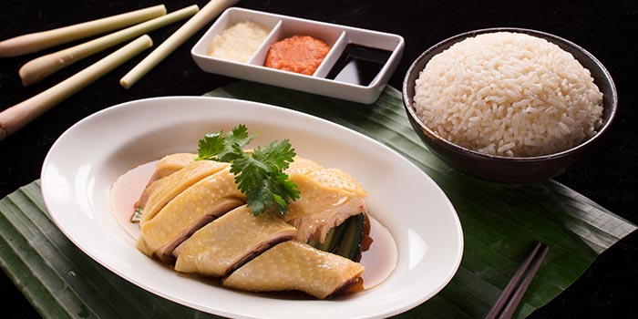 Signature Hainanese Chicken Rice, Kung Pao, Causeway Bay, Hong Kong