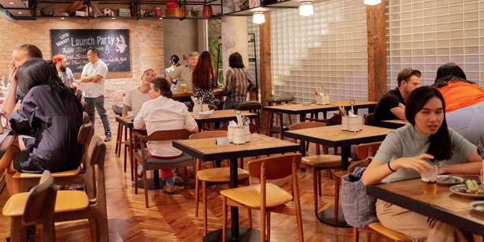 Ambience of Little Donkey BKK at 72 Soi Sukhumvit 55 Khlongton Nua, Wattana Bangkok