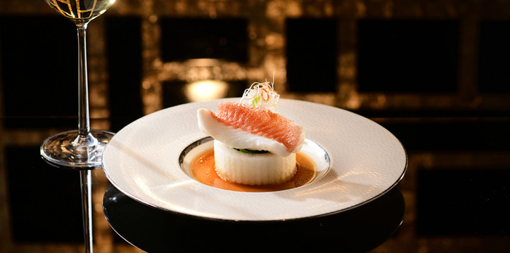 Coral Trout Fillet, Winter Melon, Chinese Amaranth, Steamed, Ming Court, Mongkok, Hong Kong